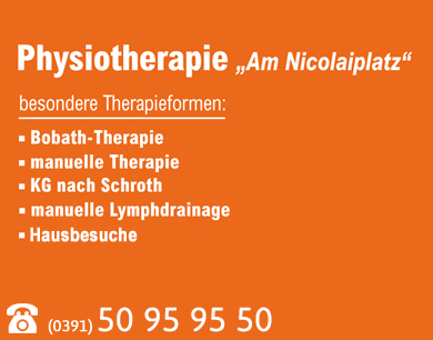 Physiotherapie am Nicolaiplatz